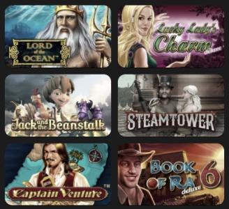 Immer die neuesten Casino-Spiele erleben
